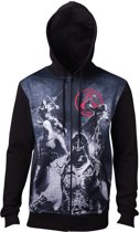 Assassin s Creed - Live By The Creed Core Men s Hoodie - 2XL