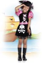 Kinderkostuum Pirate Tessa (4-6 jaar)