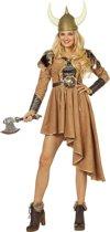 Piraat & Viking Kostuum | Vinnige Viking | Vrouw | Maat 38 | Carnaval kostuum | Verkleedkleding