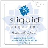 Organics Natural Gel Kussen 5 ml Sliquid 722