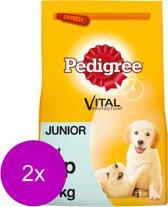 Pedigree Junior Menu - Hondenvoer - 2 x Kip 3 kg
