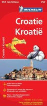 Croatie / Kroatië 11757 carte ' national ' michelin kaart