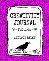 Creativity Journal for Girls