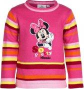 Minnie Mouse trui fuchsia voor meisjes 128