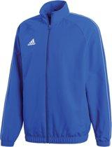 adidas Core18 Trainingsjas Heren Sportjas - Maat L  - Mannen - blauw