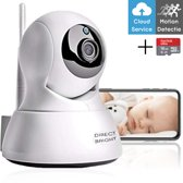 Baby Care By DSE - Slimme Babyfoon Met WiFi - Babyfoon Camera En App - Bewakingscamera - Full HD - Nachtzicht - Two-Way Audio
