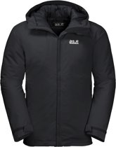 Jack Wolfskin Argon Storm Jacket Heren Outdoorjas - Black - Maat M