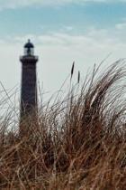 Lighthouse Beyond the Sea Grass Journal