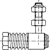 Ultraflex Accessoires voor motorbedieningskabels / L7