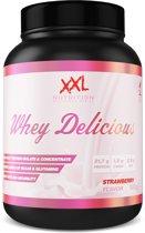 XXL Nutrition Whey Delicious - Aardbei - 1000 gram