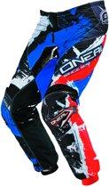 O'Neal Element Pants Shocker Black/Red/Blue-42
