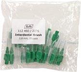 TePe Groen 25 stuks - Interdentale ragers origineel -0.8 mm - Ragers - Voordeelverpakking