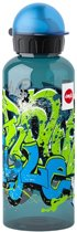 emsa TEENS Drinkfles, 0,6 Liter, Motief: Graffiti