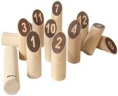Bex Number Kubb Original Rubberhout
