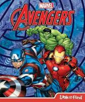 Avengers Look & Find Book