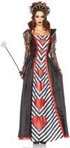 Hartenkoningin kostuum voor vrouwen  - Verkleedkleding - Large