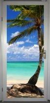 Deurposter 'Tropical 4' - deursticker 75x195 cm