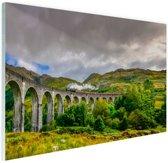 Schots landschap  Glas 120x80 cm - Foto print op Glas (Plexiglas wanddecoratie)