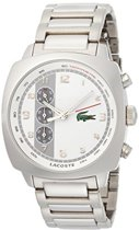 Lacoste horlogeband 2010489 / 2010486 Staal Staal / RVS 22mm