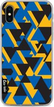 Casetastic Softcover Apple iPhone X / XS - Mixed Triangles