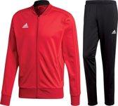 adidas Trainingspak - Maat L  - Mannen - rood/zwart