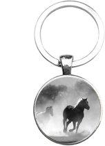 Sleutelhanger Glas - Paard