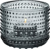 Iittala Kastehelmi Waxinelichthouder - 6,4x8cm - grijs