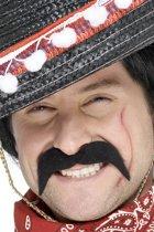 Smiffy's Mexicaanse Bandiet Snor