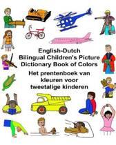 English-Dutch Bilingual Children's Picture Dictionary Book of Colors Het Prentenboek Van Kleuren Voor Tweetalige Kinderen