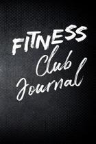 Fitness Club Journal