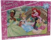 King Legpuzzel 24 Stukjes Disney Princess