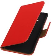 Samsung galaxy j1 2015 Ace Rood | bookstyle / book case/ wallet case Hoes  | WN™