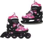 Inline Skate/Schaats Roze 35-38 Abec 7