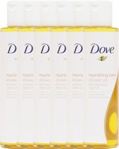 Dove Nourishing Care - 6 x 200 ml - Douche Olie