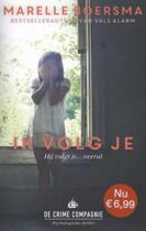 Boek cover Ik volg je / druk Heruitgave van Marelle Boersma (Paperback)