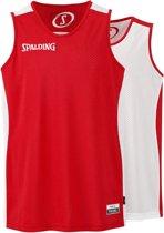 Spalding Essential basketbal Shirt - maat XL - zwart/roze