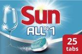 Sun All-in-1 Complete Vaatwastabletten - 25 stuks