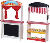 Playwood - 2 in 1 Theater en winkel met Accessoires