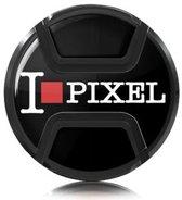 Kaiser Lens cap snap-on style I love pixel 62mm