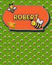 Handwriting Practice 120 Page Honey Bee Book Robert
