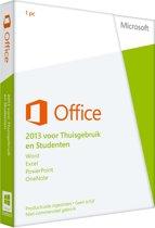 Microsoft Office Home and Student 2013 - Nederlands / 1 Gebruiker / 1 apparaat / oneindig bruikbaar / Productcode zonder DVD