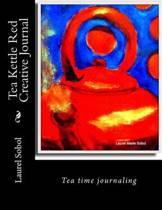 Tea Kettle Red Creative Journal