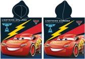Disney Badponcho Cars Zwart Junior 50 X 115 Cm