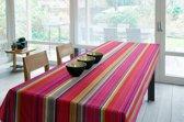 Luxe Stoffen Tafellaken - Tafelkleed - Tafelzeil - Bilbao Rood