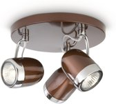 Philips Myliving Balsa Pladondspots (3-lichts) - Bruin
