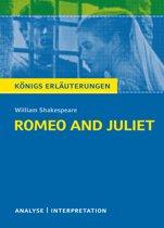 Romeo and Juliet - Romeo und Julia von William Shakespeare. Königs Erläuterungen.