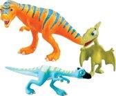 Dinosaurus Trein  Verzamel pakket - Boris, Oren en Mevrouw P.