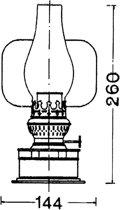 DHR Pantrylampen / Olie 8877/O