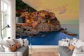 Fotobehang - Cinque Terre Coast - 366 x 254 cm - Multi
