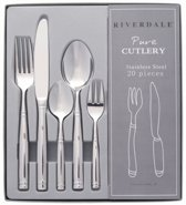 Riverdale Pure Bestekset - 20-delig - RVS